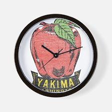 Vintage Yakima Apple Wall Clock