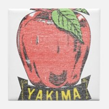 Vintage Yakima Apple Tile Coaster