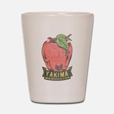 Vintage Yakima Apple Shot Glass