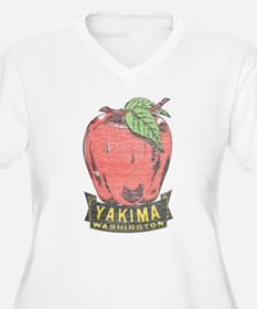 Vintage Yakima Apple Plus Size T-Shirt
