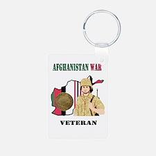 Afghanistan War Veteran Keychains