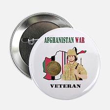 """Afghanistan War Veteran 2.25"""" Button"""