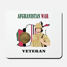 Afghanistan War Veteran Mousepad