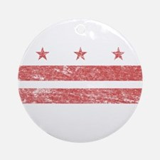 Vintage Washington DC Ornament (Round)