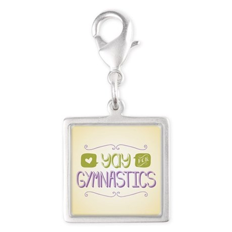 Yay for Gymnastics Charms
