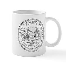 Vintage West Virginia Seal Mug