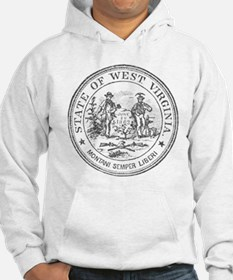 Vintage West Virginia Seal Hoodie