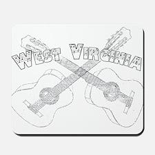 West Virginia Guitars Mousepad