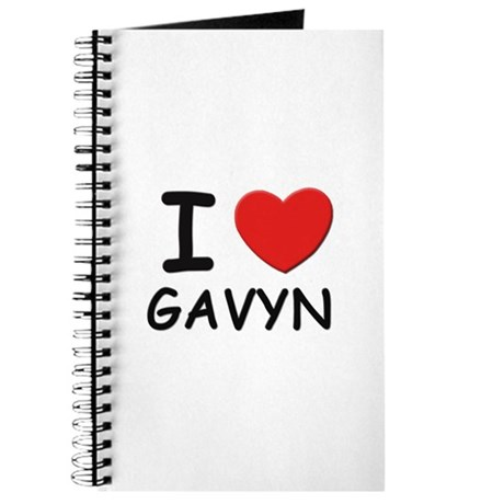 I love Gavyn Journal