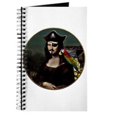 Mona Lisa Pirate Captain Journal