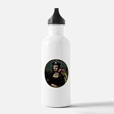 Mona Lisa Pirate Captain Water Bottle