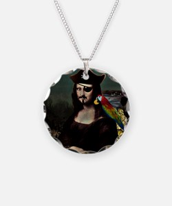 Mona Lisa Pirate Captain Necklace