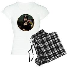 Mona Lisa Pirate Captain Pajamas