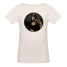 Mona Lisa Pirate Captain T-Shirt