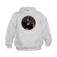 Mona Lisa Pirate Captain Hoodie