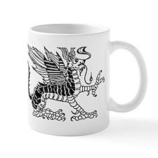 Black Dragon Small Mug