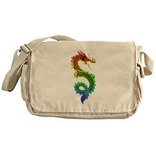Colorful Serpent Messenger Bag