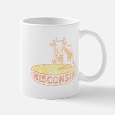 Faded Vintage Wisconsin Cheese Mug