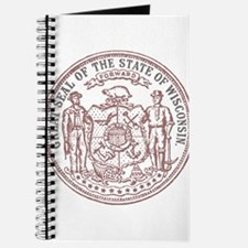 Vintage Wisconsin State Seal Journal