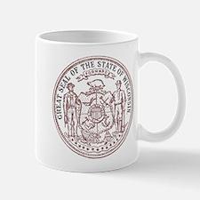 Vintage Wisconsin State Seal Mug