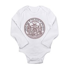 Vintage Wisconsin State Seal Body Suit