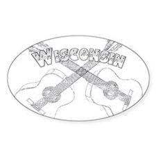 Wisconsin Guitars Decal