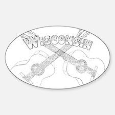 Wisconsin Guitars Decal