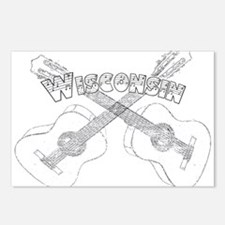 Wisconsin Guitars Postcards (Package of 8)
