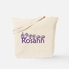 Rosann in ASL Tote Bag