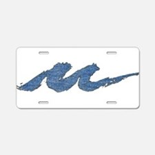 Lake Michigan Milwaukee Aluminum License Plate