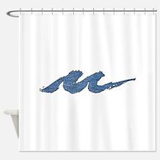 Lake Michigan Milwaukee Shower Curtain