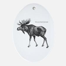 Yellowstone Ornament (Oval)