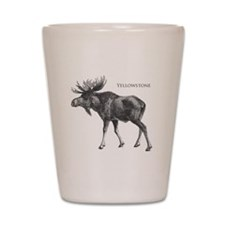 Yellowstone Shot Glass