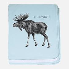 Yellowstone baby blanket