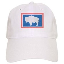 Wyoming State Flag Baseball Baseball Cap