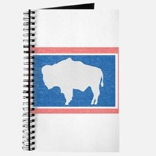 Wyoming State Flag Journal