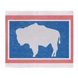 Jackson hole wyoming Fleece Blankets