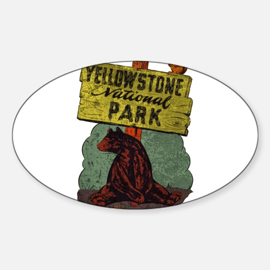 Vintage Yellowstone Decal