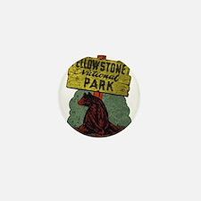 Vintage Yellowstone Mini Button