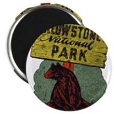 Vintage Yellowstone Magnet