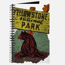 Vintage Yellowstone Journal