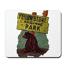 Vintage Yellowstone Mousepad