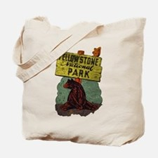 Vintage Yellowstone Tote Bag