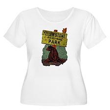 Vintage Yellowstone Plus Size T-Shirt