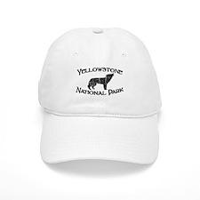 Yellowstone Wolf Baseball Baseball Cap