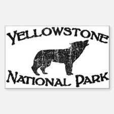 Yellowstone Wolf Decal