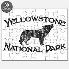 Yellowstone Wolf Puzzle