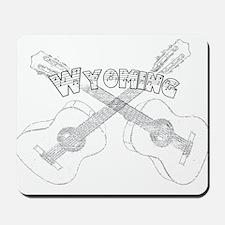 Wyoming Guitars Mousepad