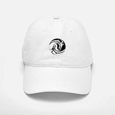 Black And White Yin Yang Dragons Baseball Baseball Cap