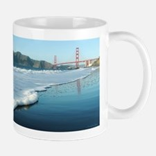Golden Gate Bridge Sudsy Shoreline Mug